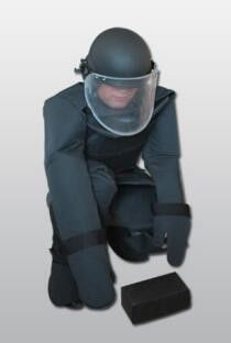 Professional EOD Equipment Explosives Search Suit Full Protection Comfortable Wear
