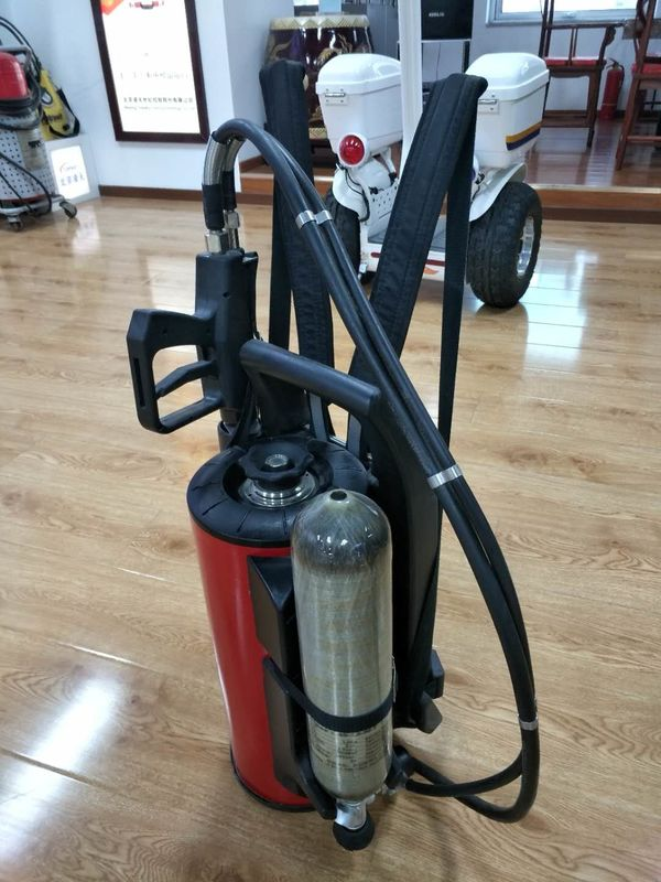 9L Water Mist Fire Extinguisher Fire Fighting Equipment QXWB9 24 L/Min Flow Rate
